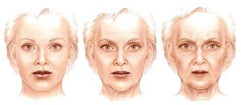 come invecchia il viso